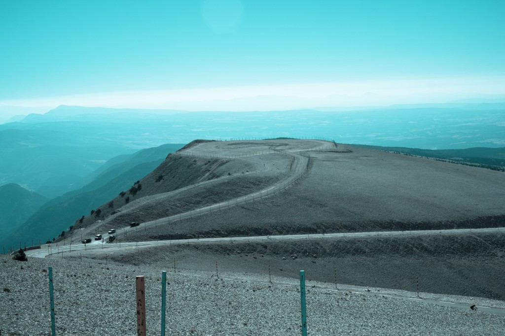 Photography from Mont Ventoux in France